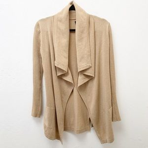 Theory Cashmere Waterfall Cardigan